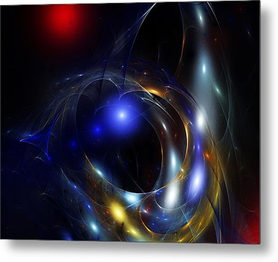 Dark Matter Revealed Metal Print