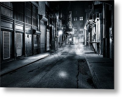 Dark Nyc Metal Print