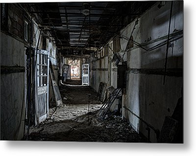 Dark Passage Metal Print by Robert Myers