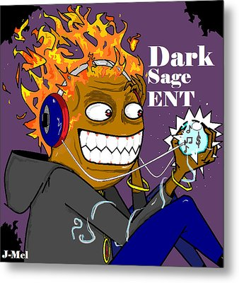 Dark Sage Metal Print by Joshua Massenburg