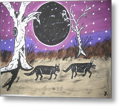 Dark Side Of The Moon Metal Print by Jeffrey Koss