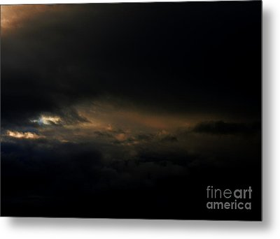 Metal Print featuring the photograph Dark Sky by Erica Hanel