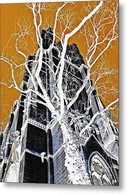 Dark Tower Metal Print by Sarah Loft