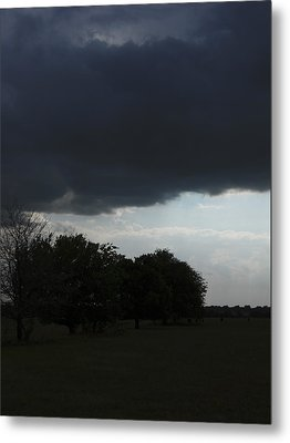 Metal Print featuring the photograph Darkened Horizons by Maggy Marsh