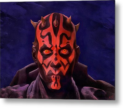 Darth Maul Dark Lord Of The Sith Metal Print