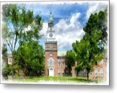 Dartmouth Collage Metal Print by Edward Fielding