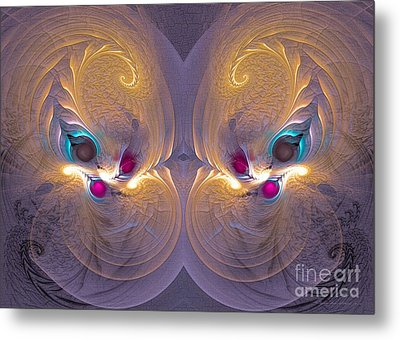 Daughters Of The Sun - Surrealism Metal Print by Sipo Liimatainen