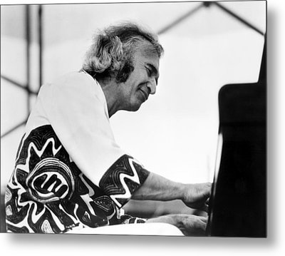 Dave Brubeck, 1970s Metal Print by Everett