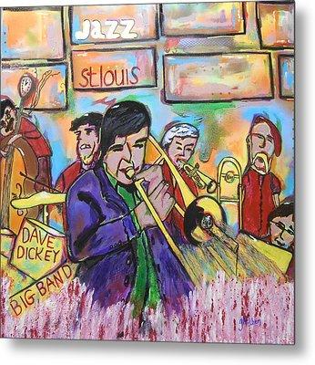 Dave Dickey Big Band Metal Print