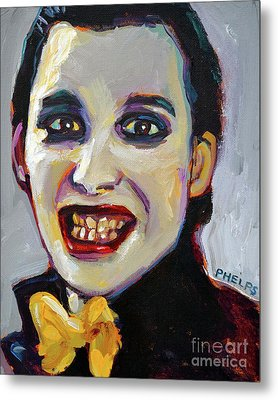 Dave Vanian Of The Damned Metal Print