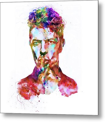 David Bowie  Metal Print by Marian Voicu