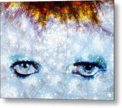 David Bowie / Stardust Metal Print by Elizabeth McTaggart