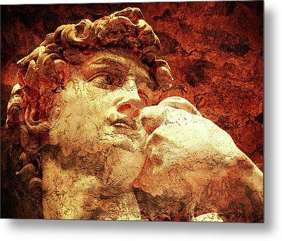 David By Michelangelo Metal Print