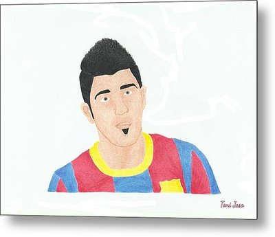 David Villa Metal Print by Toni Jaso