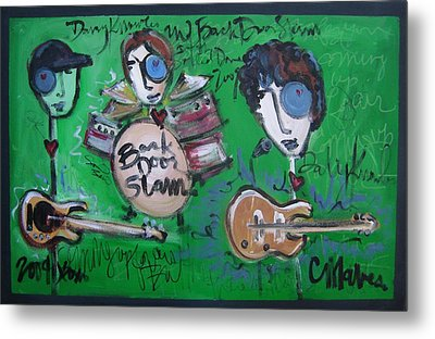 Davy Knowles And Back Door Slam Metal Print by Laurie Maves ART