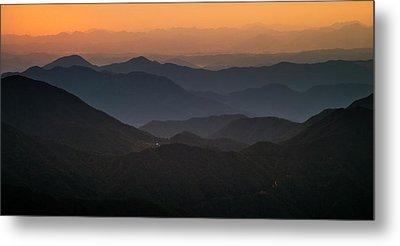 Dawn At Jirisan Metal Print by Ng Hock How