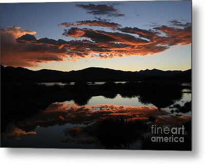 Dawn At Lake Dillon Metal Print