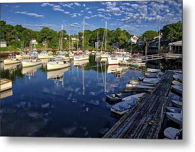 Dawn At Perkins Cove - Maine Metal Print