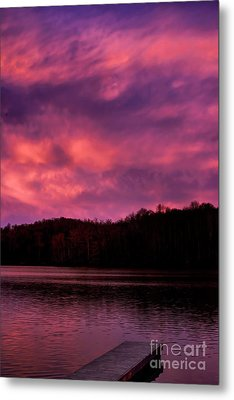 Metal Print featuring the photograph Dawn At The Dock by Thomas R Fletcher