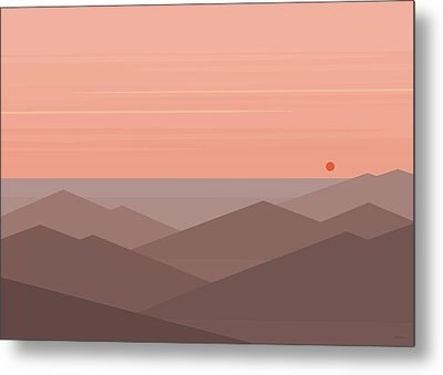 Dawn Breaks II Metal Print