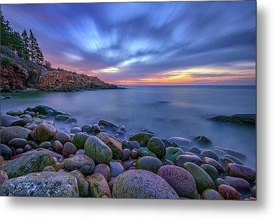 Dawn In Monument Cove Metal Print by Rick Berk