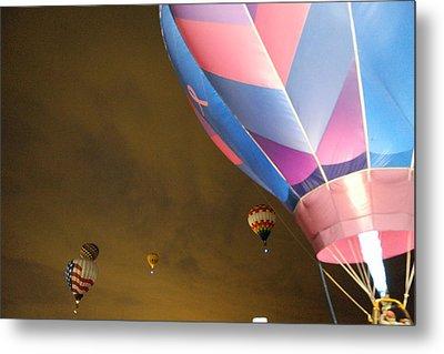 Dawn Launch Balloon Fiestas Albuquerque New Mexico  Metal Print by Jeff Swan