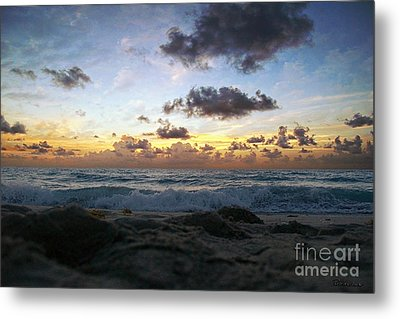 Dawn Of A New Day 141a Metal Print by Ricardos Creations