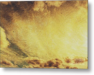 Dawn Of A New Day Texture Metal Print