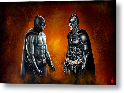 Dawn Of The Dark Knight Metal Print by Vinny John Usuriello