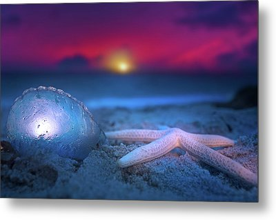 Metal Print featuring the photograph Dawn Of The Warriors by Mark Andrew Thomas