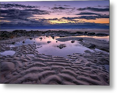 Metal Print featuring the photograph Dawn On Wells Beach by Rick Berk