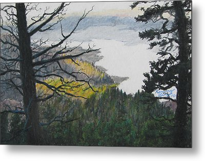 Dawn Over Eagle Nest Lake Metal Print by Kenny King
