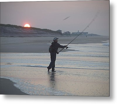 Metal Print featuring the photograph Dawn Patrol by Newwwman