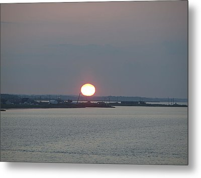 Metal Print featuring the photograph Dawn by  Newwwman