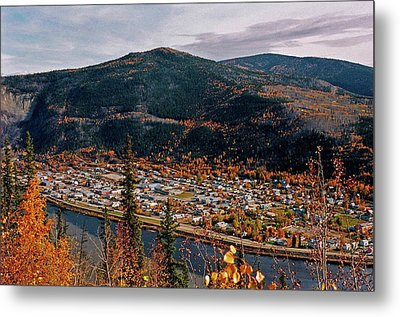 Dawson City - Yukon Metal Print by Juergen Weiss