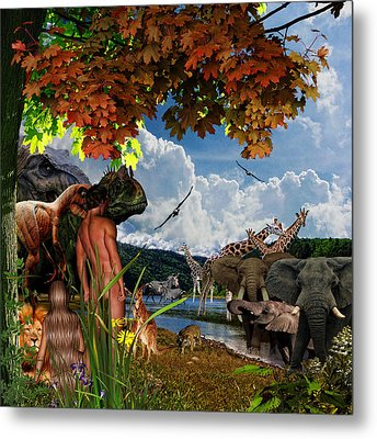 Day 6 II Metal Print
