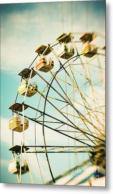 Day At The Beach No.3 Metal Print by Lisa McStamp