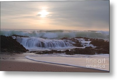 Day Break Paradise Metal Print by Kym Clarke