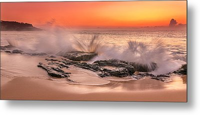 Day Break Metal Print by Racheal Christian