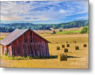 Day Of August Metal Print