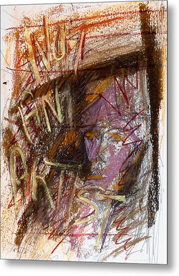 Day18177 Not An Artist Metal Print by Original Art For your home