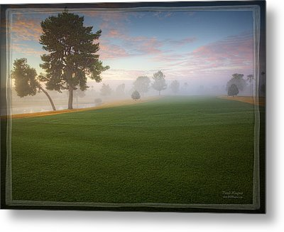 Daybreak At Willowcreek Metal Print