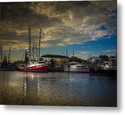 Daybreak On The Captain Jack Metal Print