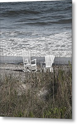 Daydreaming By The Sea  Metal Print