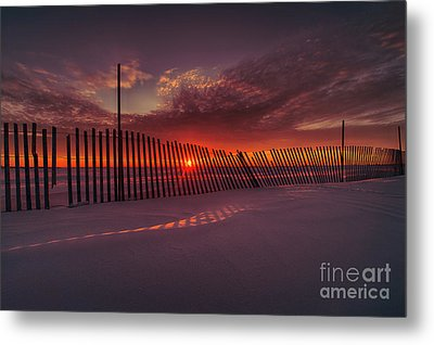 Daylight Boundary Metal Print by Ian McGregor