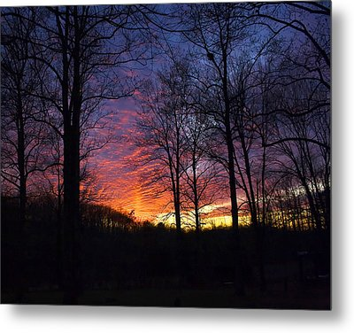 Metal Print featuring the photograph Day's End by Alan Raasch