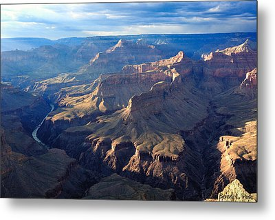 Day's End At Pima Point Metal Print