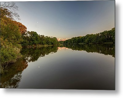 Metal Print featuring the photograph Day's End On The Creek by Charles Kraus