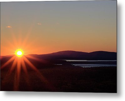 Metal Print featuring the photograph Days First Light IIi Hdr by Greg DeBeck