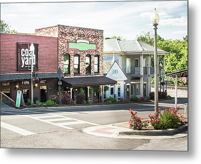 Metal Print featuring the photograph Daytime In Old Town Helena by Parker Cunningham